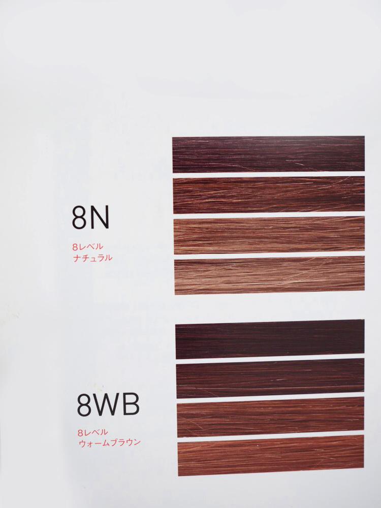 カラー剤のカバー比較