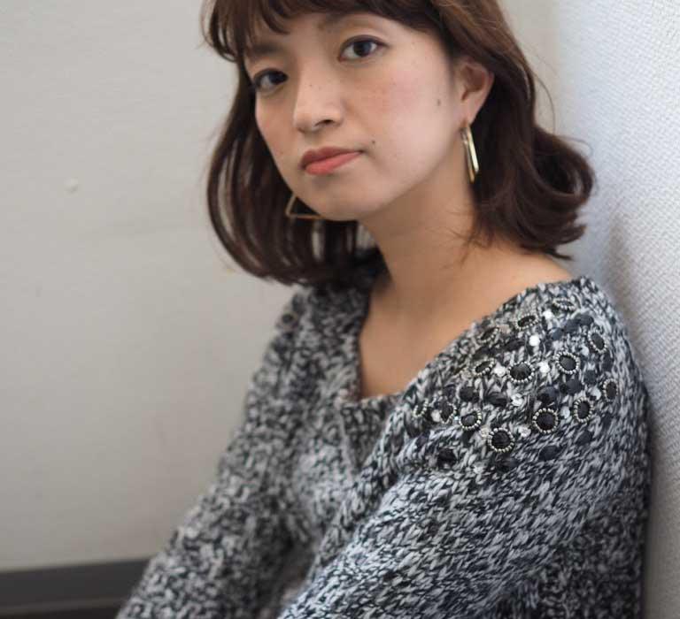高円寺の美容室 ヘアスタイル ミディアム