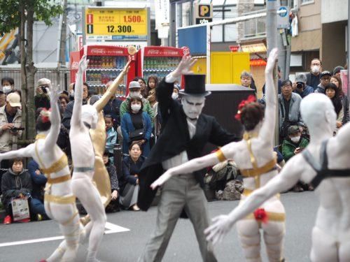 高円寺びっくり大道芸2019 大駱駝艦