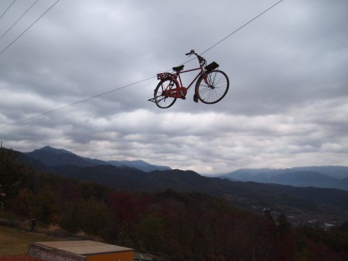 ほったらかしキャンプ場 ほったらかし温泉 自転車